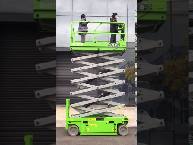 SS1312HL Mobile 13m hydraulic Scissor Lift Platform For Indoor
