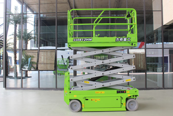 Mobile 10m Self Propelled Scissor Lift with 450kg load capacity supplier