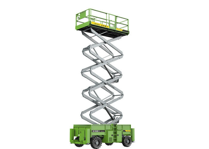 Diesel Engine 18m 700kg Capacity Self Propelled Scissor Lift for Outdoor maintanence supplier