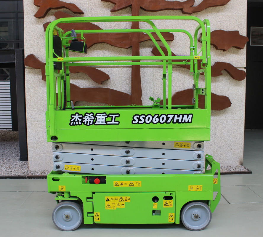 Hydraulic scissor Mobile Lift plaform with Max.Working height 19ft for indoor supplier